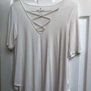 American Eagle soft & sexy medium short sleeve top